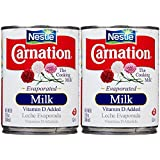 Carnation Evaporated Milk Can-Vitamin D Added-12 Oz-2 Pack