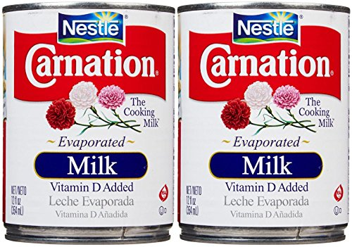 Carnation Evaporated Milk Can-Vitamin D Added-12 Oz-2 Pack (Carnation Evaporated Milk)
