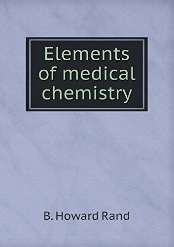 Elements of medical chemistry pdf