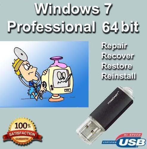 Windows Professional Install Recovery Reinstall product image