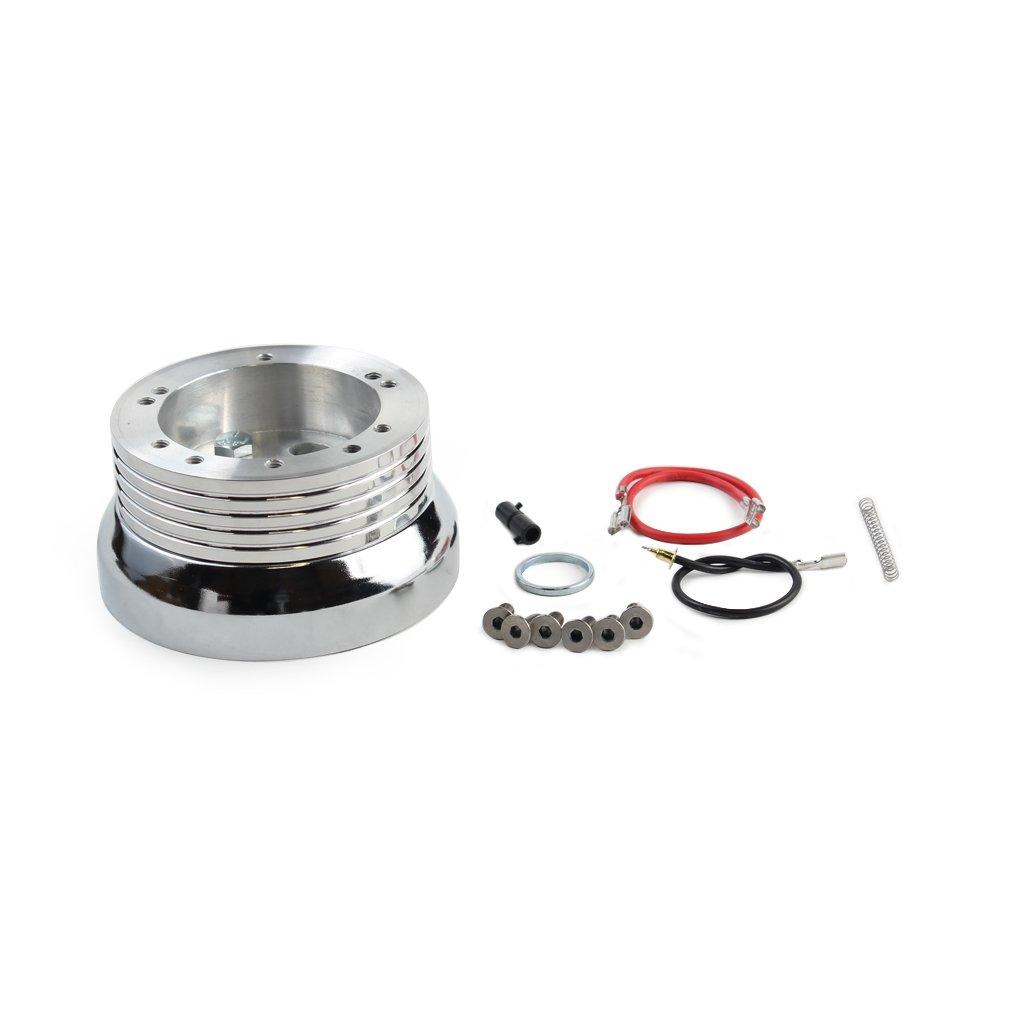 5 & 6 Hole Billet Steering Wheel Adapter for All Chevrolet Models