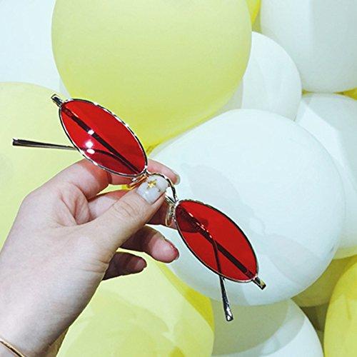 TESITE Femeninas ProteccióN De UV Manejo Rojo Espejo Polarizadas 100 Sol De Gafas Gafas qrqC4