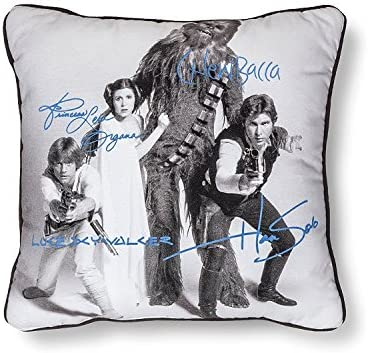 Star Wars Signature White Pillow 15×15