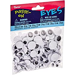Variety Pack of Round Eyes, 200 Pcs