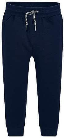 Mayoral Pantalon felpa basico puños niño modelo 742