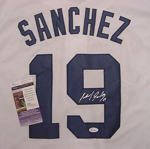 Anibal-Sanchez-Detroit-Tigers-Autographed-Hispanic-Heritage-Tigres-White-19-Jersey-JSA-COA