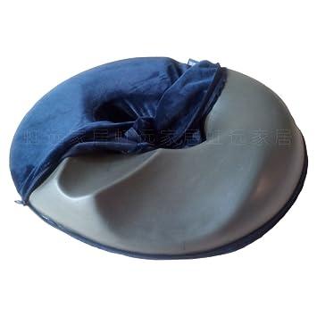 Cómoda cura coxis de carbón de bambú cojín coxis ortopédica silla asiento 45 * 40cm ortopédico