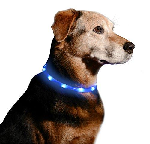 LED Dog Necklace Collar