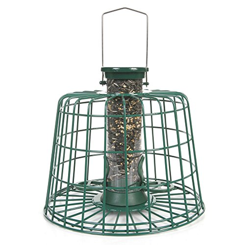 C J Guardian Seed Bird Feeder Pack (Medium) (Green) by C J Wildbird Foods Limited