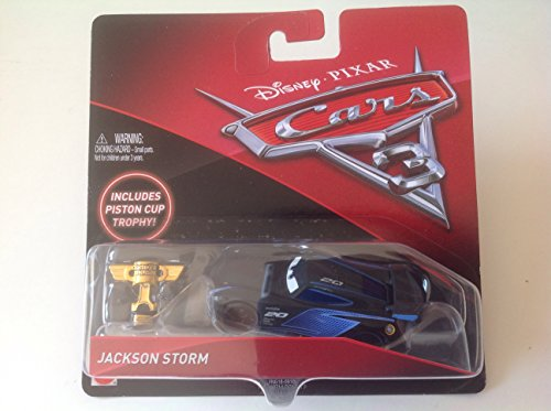 Disney Pixar Cars 3 Jackson Storm Includes Piston Cup -
