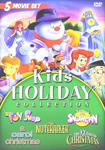 Kids Holiday Christmas Movie Collection : A Carol Christmas Full Length Feature Starring Tori Spelling , Animated Classics : The 12 Days Of Christmas , Magic Gift of the Snowman , The Toy Shop , The Nutcracker
