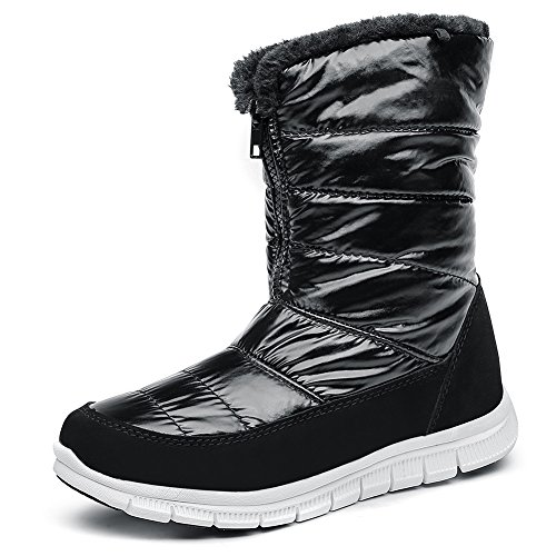 cca241eccb Galleon - SHAKE Women s All-match Flat Non-slip Lightweight Comfort Warm  Boots Cold-Weather Soft Fur Snow Boots (7US Women EU 38