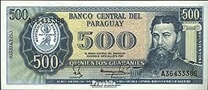 billetes para coleccionistas: Paraguay Pick-No.: 206 unc 1982 500 Guaranies