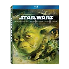 Star Wars: The Prequel Trilogy (Episode I: The Phantom Menace / Episode II: Attack of the Clones / Episode III: Revenge of the Sith) [Blu-ray] (2011)