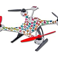 Skin For Blade 350 QX3 Drone – Color Bugs | MightySkins Protective, Durable, and Unique Vinyl Decal wrap cover | Easy To Apply, Remove, and Change Styles | Made in the USA