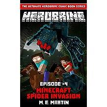 HEROBRINE Episode 4: Minecraft Spider (Herobrine Comic Book Series )