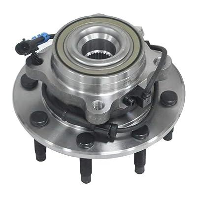 1x Front Wheel Hub & Bearing Ass. For Chevy GMC Silverado/Sierra Hummer H2 4WD: Automotive