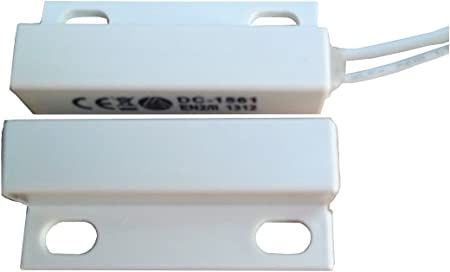 Aleph DC-1561 W Surface Mount Alarm Magnetic Contact Package of 10