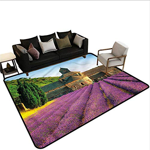 - Lavender,Dining Table Rugs 80
