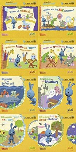 Pixi-Bundle 8er Serie 209: Ki-Ka-Kaninchen