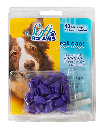 Soft Claws Canine Nail Caps - 40 Nail Caps and