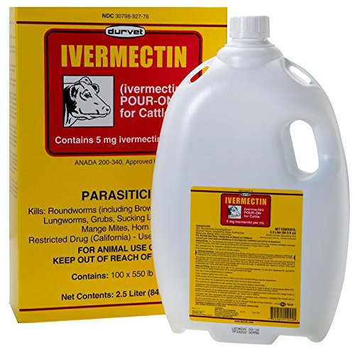 Injection Ivermectin (Ivermectin Pour On Pest Control For Cattle - 2. 5 Liter - Natrl)