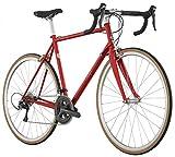 Raleigh Bikes Grand Vitesse Steel Frame Road Bike, Red, 54cm/Medium