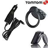 Strong Suction Mount and Micro USB Car Charger Cable Cord Kit for TOM TOM VIA 1400 1405 1415 1425 1500 1505 1515 1525 1600 1605 1615 GO 50 51 52 60 61 62 GPS