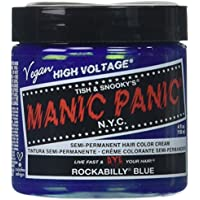 Manic Panic Rockabilly Semi-Permanent Color Cream, Blue