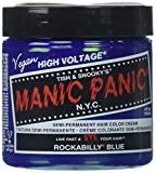 Manic Panic Rockabilly Semi-Permanent Color Cream, Blue