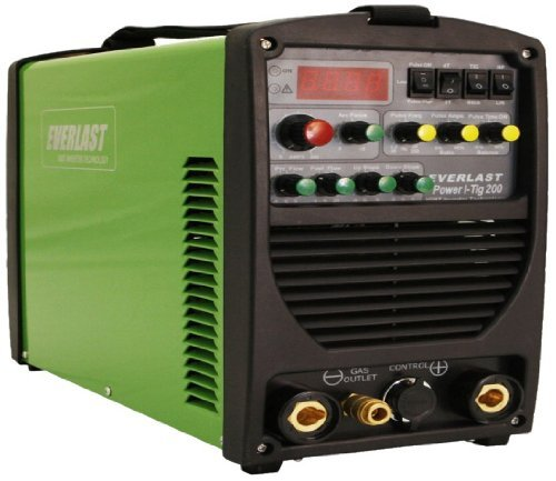 Everlast Power ITig 200 DC Stick TIG Welder 110v/220v