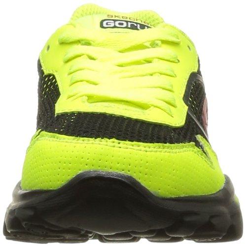 Skechers GOrun Ride Supreme - Zapatillas de material sintético para niño amarillo - Gelb (YLBK)
