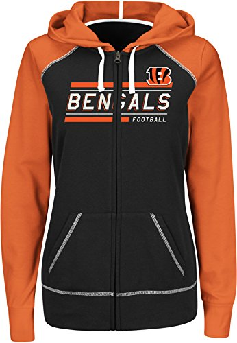 Cincinnati Bengals Full Zip Fleece - 5