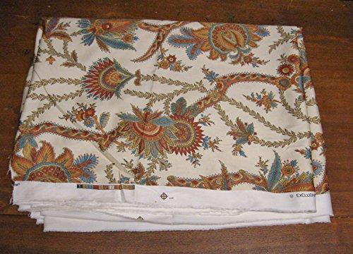 Duralee/Suburban Home Boteh Blossom Fabric-BTY-Drapery/Home Decor/Headboard (Blossom Drapery)