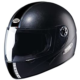 Studds Chrome Eco Full Face Helmet (Black, XL 600MM)