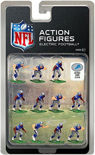 Detroit Lions Home Jersey NFL Action Figure Set – Sports Center Store