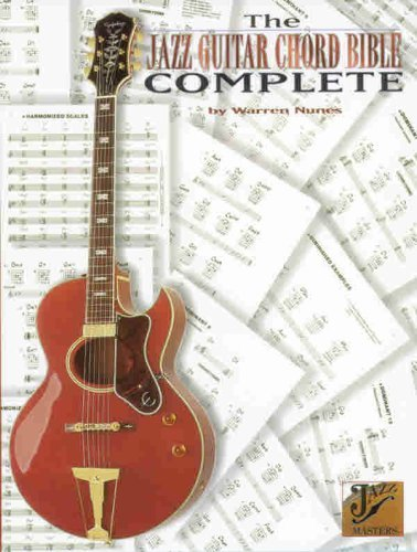 The Jazz Guitar Chord Bible -