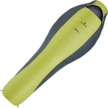Saco dormir Ferrino Lightec SM 850 sintetico verde cremallera unica: Amazon.es: Deportes y aire libre