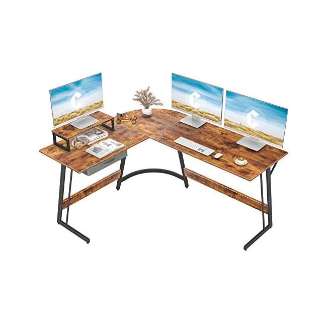 Best L-Shaped Computer Desk USA 2021