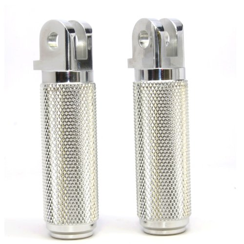 Speed Dealer Billet Aluminum Knurled Rider Pegs for Triumph Thruxton - Triumph Dealer