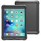 iPad Mini 4 Case - Poetic [Turtle Skin Series] iPad Mini 4 (4th Gen) Case- [Corner/Bumper Protection] [Grip] [Sound-Amplification] Protective Silicone Case for Apple iPad Mini 4 Black (3 Year Manufacturer Warranty From Poetic)