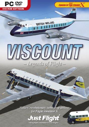 (Viscount Professional for Flight Simulator X PC DVD Game UK)
