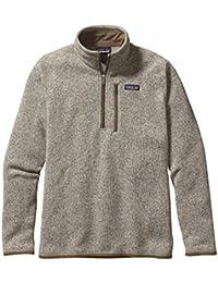 Mens Better Sweater 1/4 Zip Jacket Bleached Stone 25522/BLST