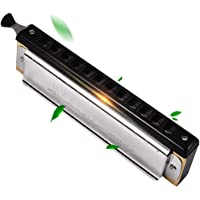 Harmonica 12-Hole 48-Tone Chromatic Scale Musical Instrument