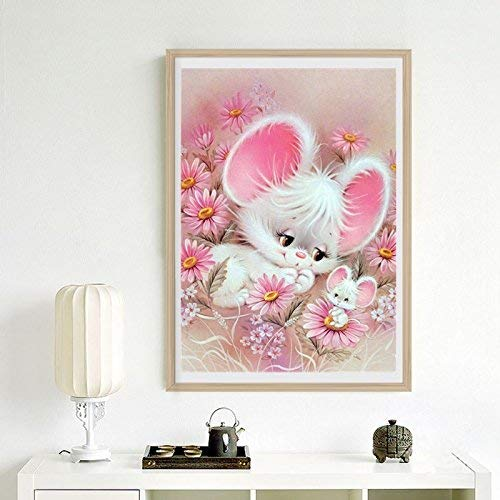 BangBangSing 5d Diamond Painting Kits for Adults Kids Mouse Full Drill Diamond  for Home Wall Decor 12x16inch Canvas Size