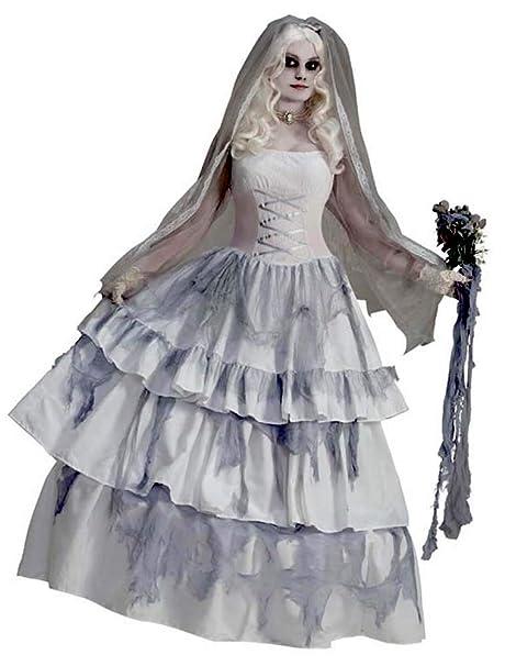 Amazon.com: Forum Novelties Disfraz de novia de fantasma ...