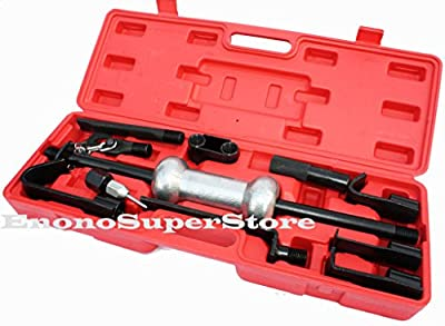 13PC Heavy Duty Dent Puller with 10lbs Slide Hammer Auto Body Truck Repair Tool Kit