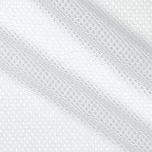Telio Mod Stretch Mesh White Fabric By The Yard