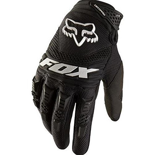 Crazystone's FOX Motorcycle, Motocross, Bikes Full Finger Gloves (XL Width-11cm(4.33ins), Black)