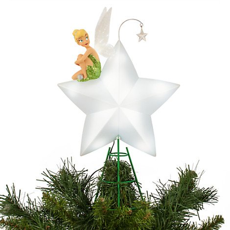 Pixie Christmas Tree Topper Tinkerbell Disney Store